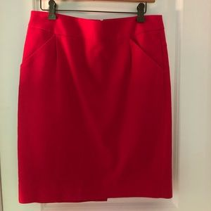 J. Crew pencil skirt with pockets